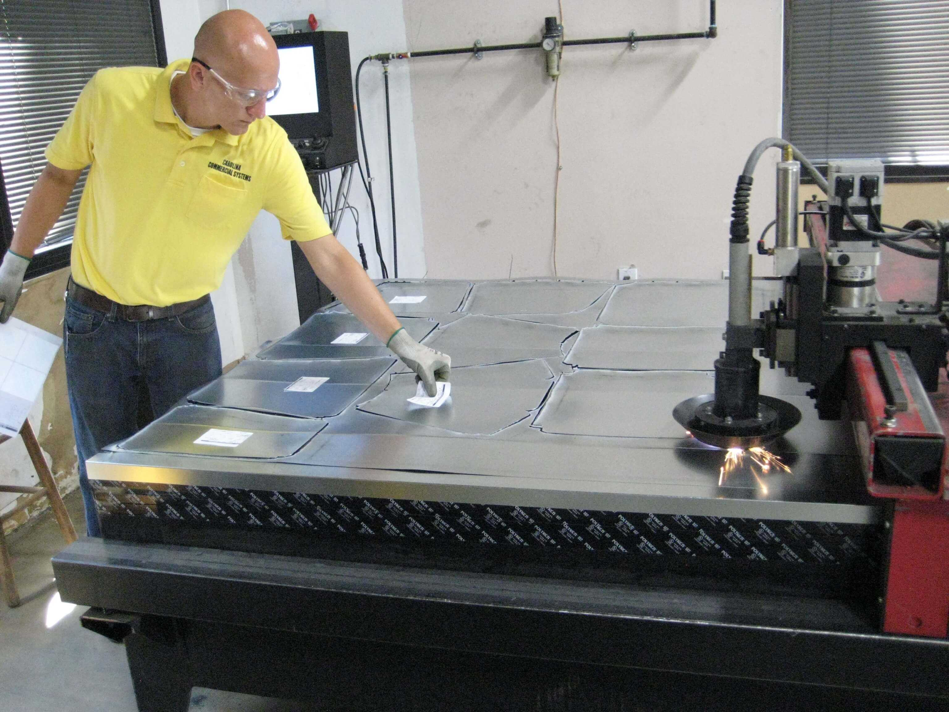 duct fabrication shop